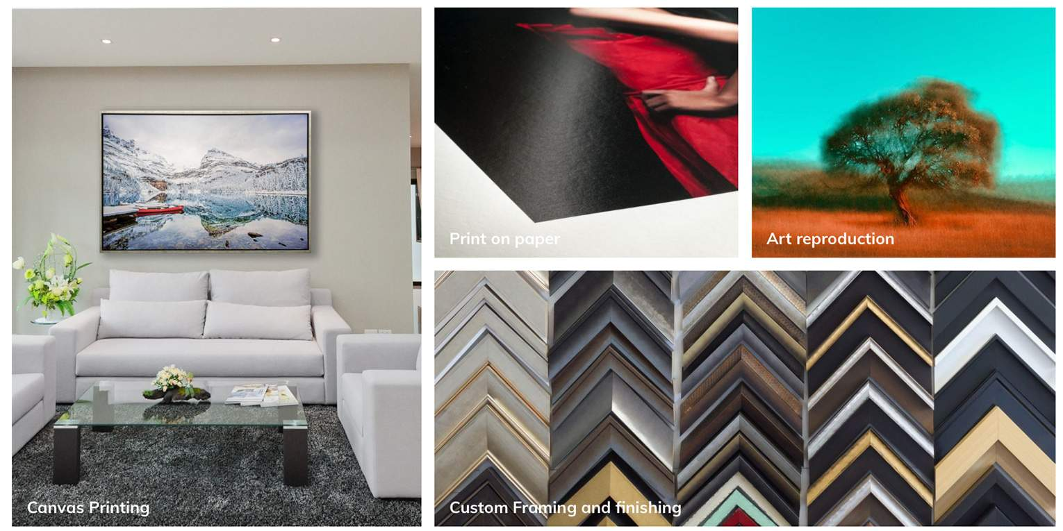 KA Canvas | Picture Framing | Canvas Printing | Photographic Mountain Wall Art